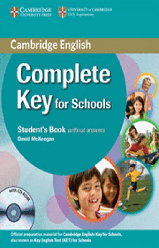COMPLETE KEY FOR SCHOOLS SB + WB + CD (KET)