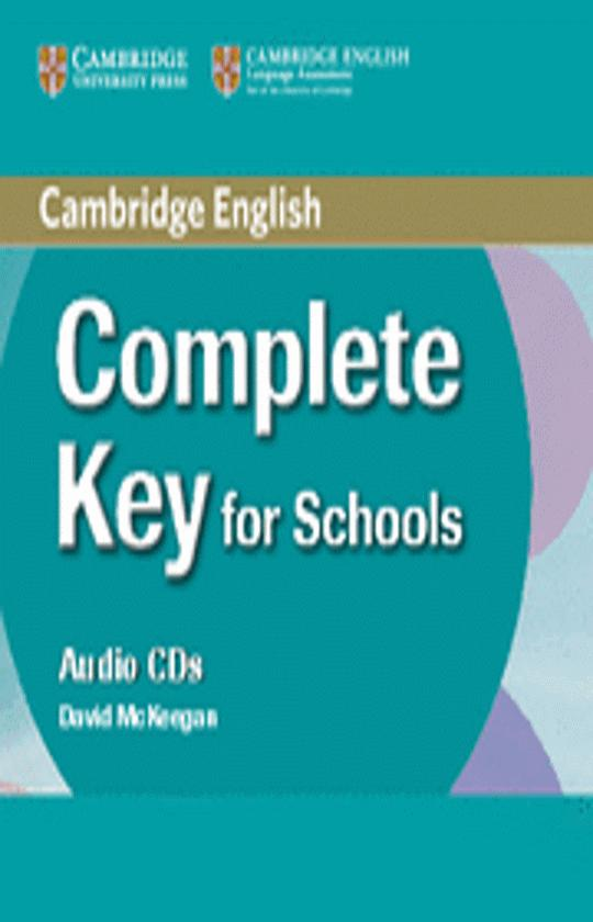 COMPLETE KEY FOR SCHOOLS CD (KET)