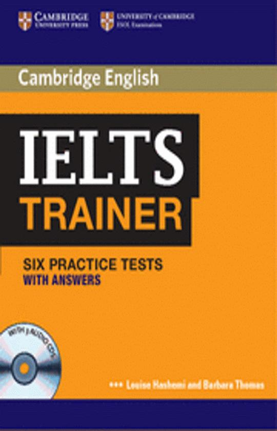 IELTS TRAINER with answers + CD (3)  - Six Practice Tests