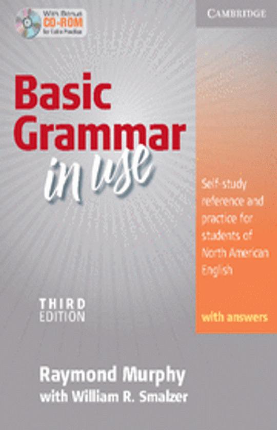 BASIC GRAMMAR IN USE Third Ed with answers + CD ROM