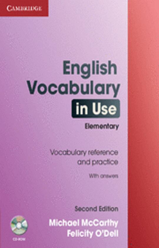 ENGLISH VOCABULARY IN USE ELEMENTARY with answers 2nd Ed + CD ROM