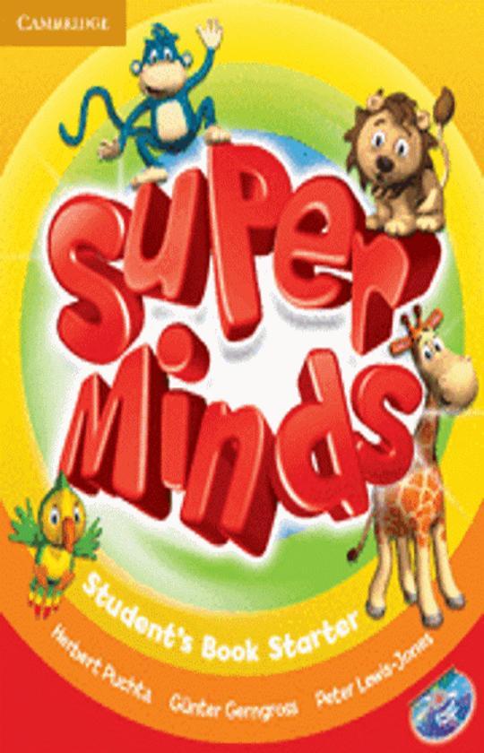 SUPER MINDS STARTER SB + DVD ROM