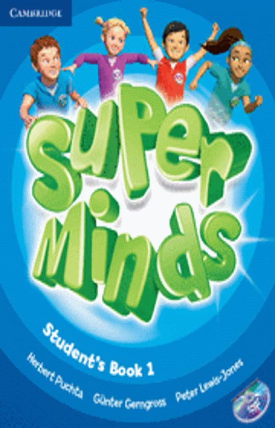SUPER MINDS 1 SB + DVD ROM