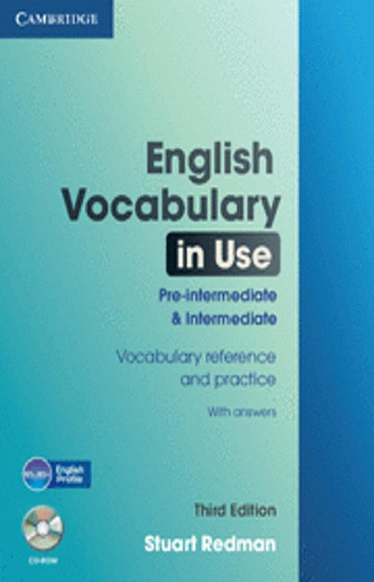 ENGLISH VOCABULARY IN USE PRE INT / INTwith answers 3rd Ed + CD ROM