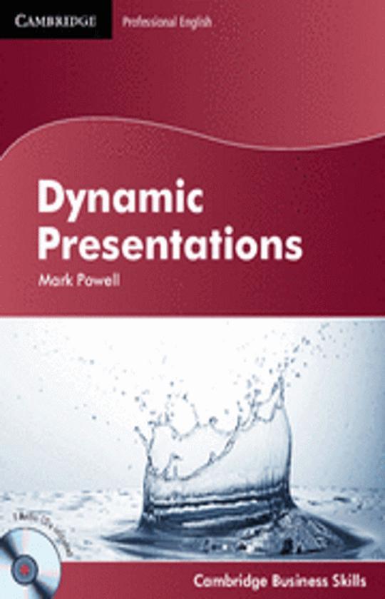 DYNAMIC PRESENTATIONS + CD - Cambridge Professional English