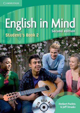 ENGLISH IN MIND LEVEL 2 SB + DVD ROM 2ND ED