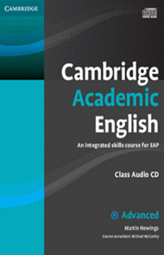 CAMB ACADEMIC ENGLISH ADVANCED CD