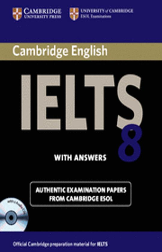 CAMBRIDGE IELTS 8 SB with answers Pack CDs (2)