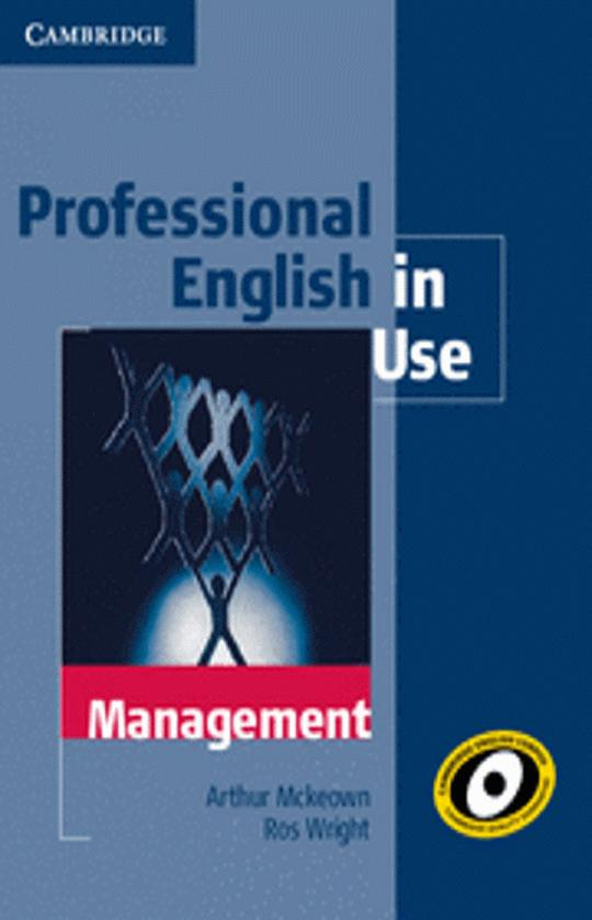MANAGEMENT - Professional English in Use