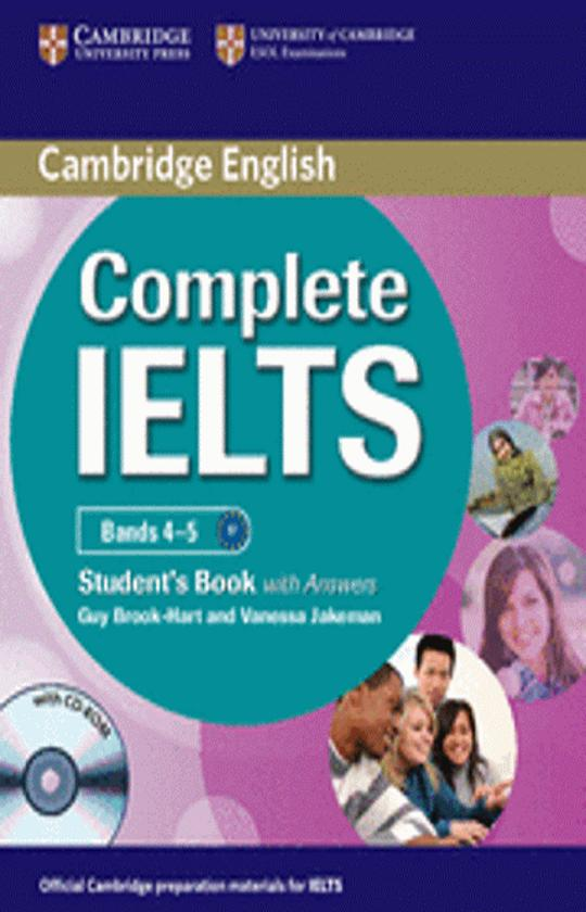 COMPLETE IELTS Bands 4 - 5 SB with answers + CD-ROM + CD