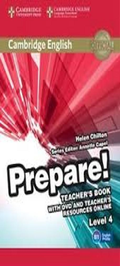 PREPARE! 4 TB + DVD + Teacher´s Resource Online