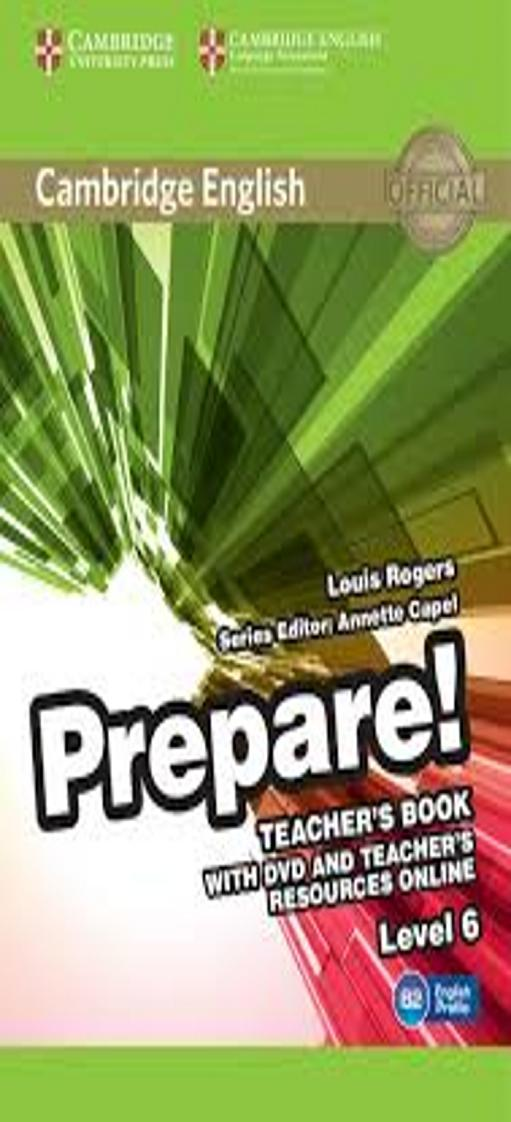 PREPARE! 6 TB + DVD + Teacher´s Resource Online