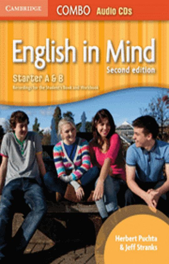 ENGLISH IN MIND STARTER A & B COMBO CD (2)