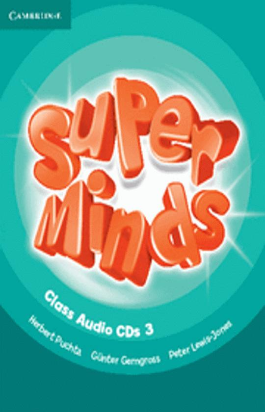 SUPER MINDS 3 CLASS CD