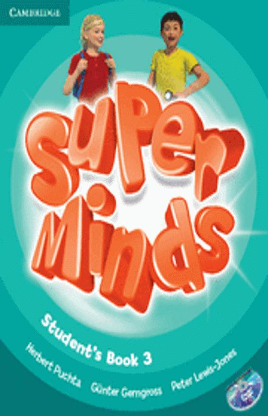 SUPER MINDS 3 SB + DVD