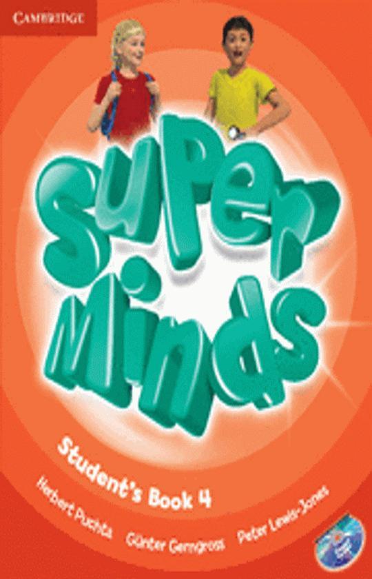 SUPER MINDS 4 SB + DVD