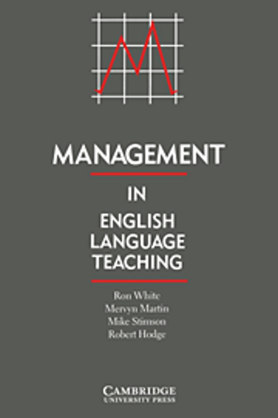 MANAGEMENT IN ENGLISH LANGUAGE TEACHING - Books Language Teachers