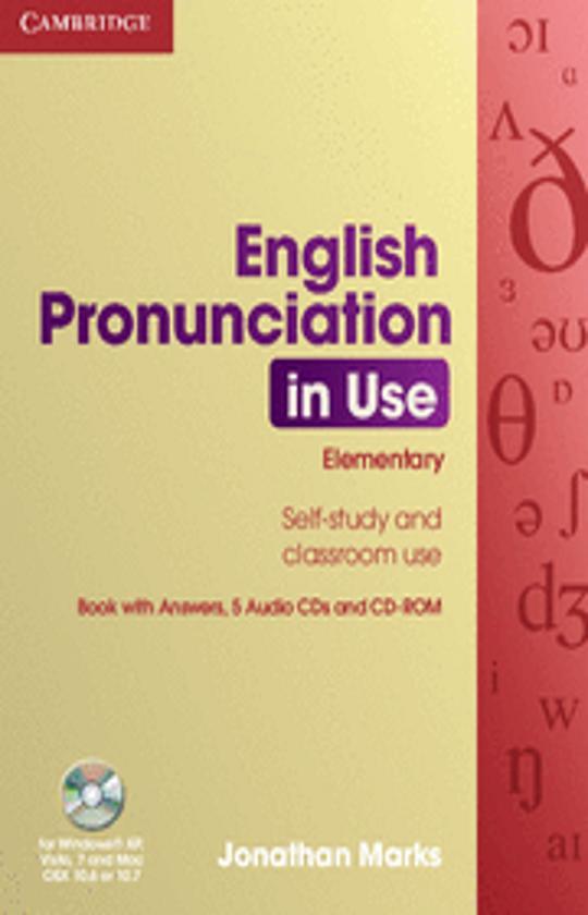 ENGLISH PRONUNCIATION IN USE ELEM + CD (4) + CD ROM