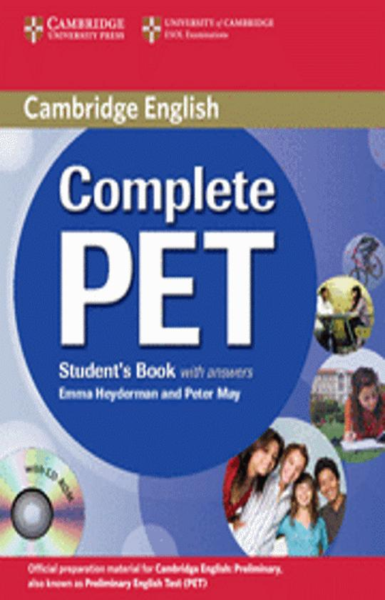 CAMB COMPLETE PET SB with answers + CD ROM