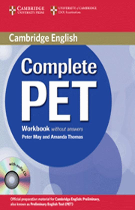 CAMB COMPLETE PET WB + CD