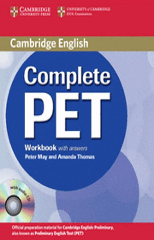 CAMB COMPLETE PET WB with answers + CD
