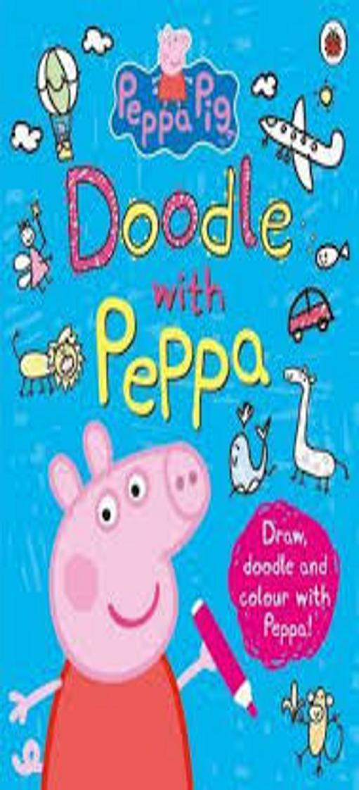 DOODLE WITH PEPPA - Peppa Pig