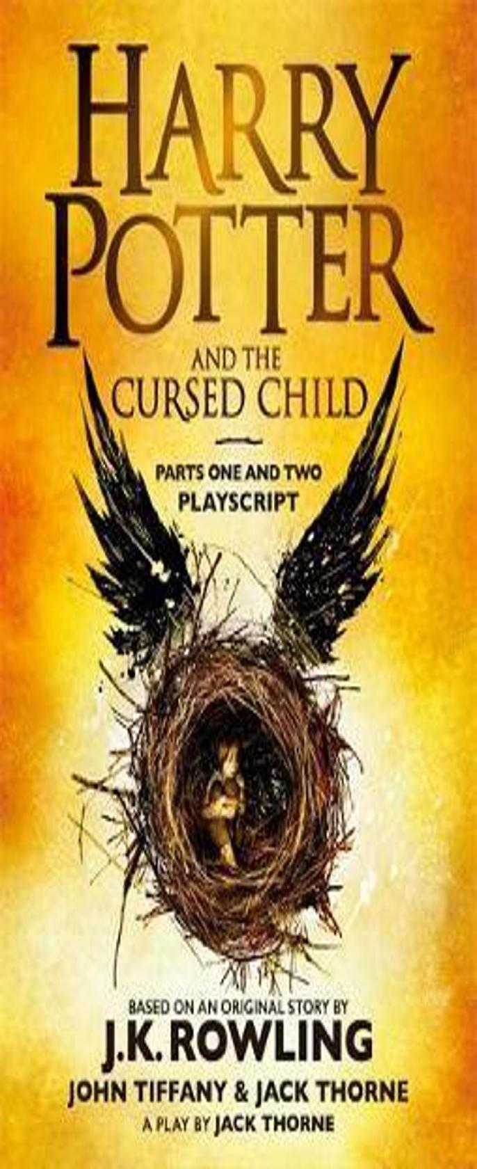 HARRY POTTER AND THE CURSED CHILD The Eighth Story -  08 Pbk