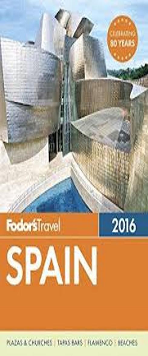 FODOR´S SPAIN 2016