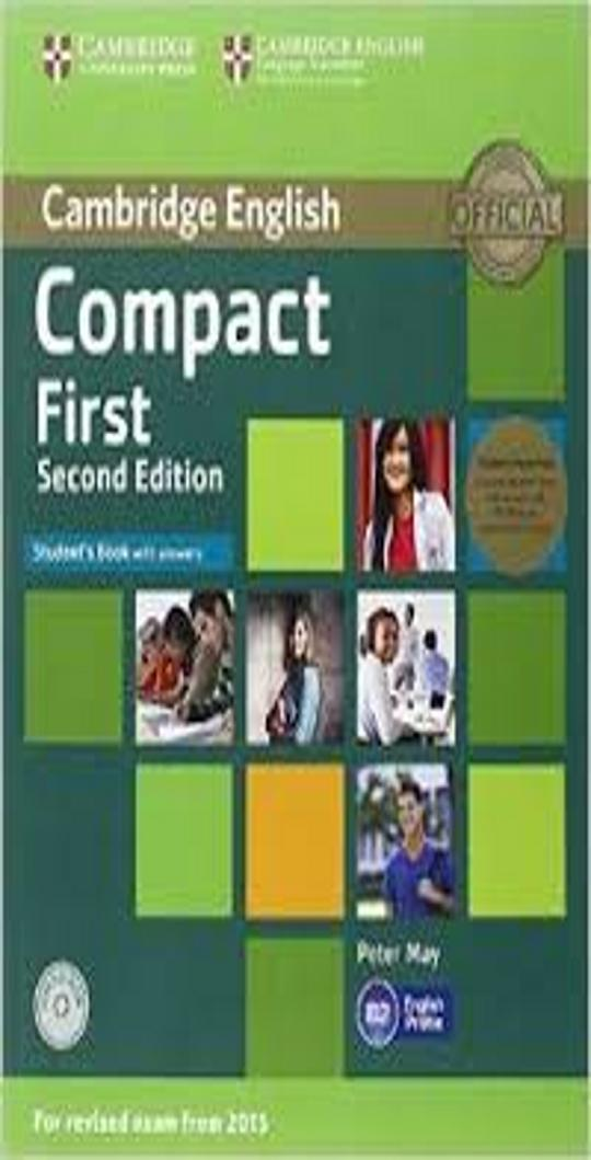COMPACT FIRST (FCE) SB with answers + CD ROM + CD 2nd Ed