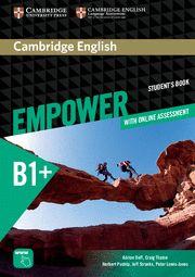 EMPOWER B1+  INTERM SB + Online Assesment + Practice