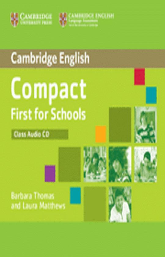 COMPACT FIRST FOR SCHOOLS (FCE) CDs
