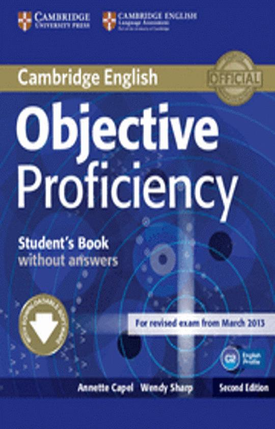 OBJECTIVE PROFICIENCY SB - Revised Exam March 2013