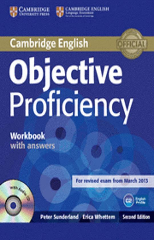 OBJECTIVE PROFICIENCY WB with answers + CD - Revised Exam March 2013