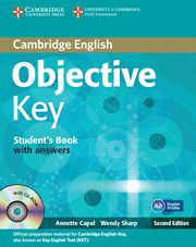 OBJECTIVE KEY ( KET) SB with answers + CD ROM 2nd Ed.