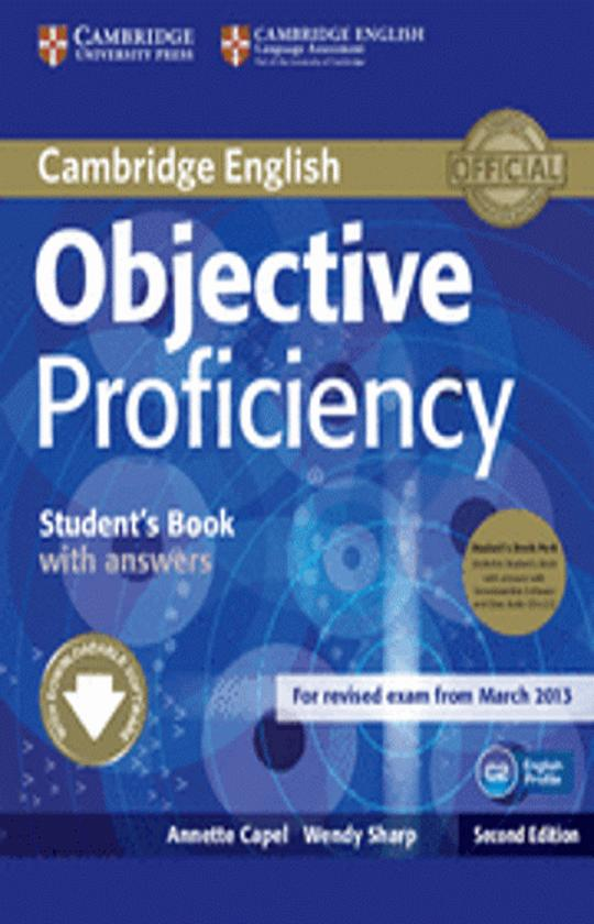 OBJECTIVE PROFICIENCY SB with answers + CD - Revised Exam March 2013