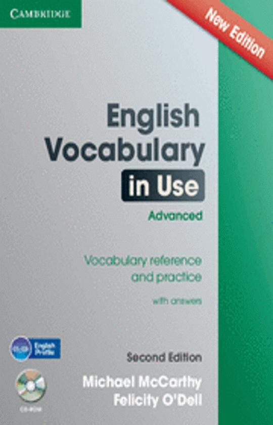 ENGLISH VOCABULARY IN USE ADVANCED with answers 2nd Ed + CD ROM