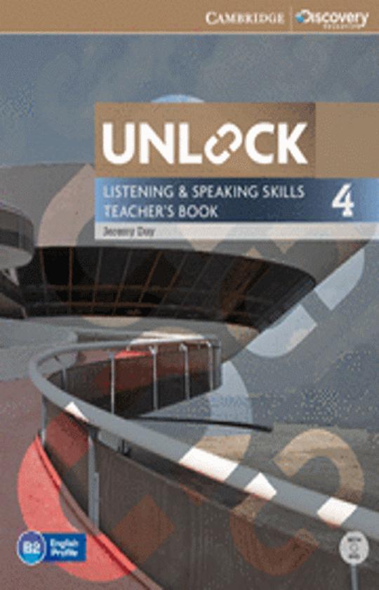 UNLOCK 4 LISTENING & SPEAKING SKILLS TB + DVD