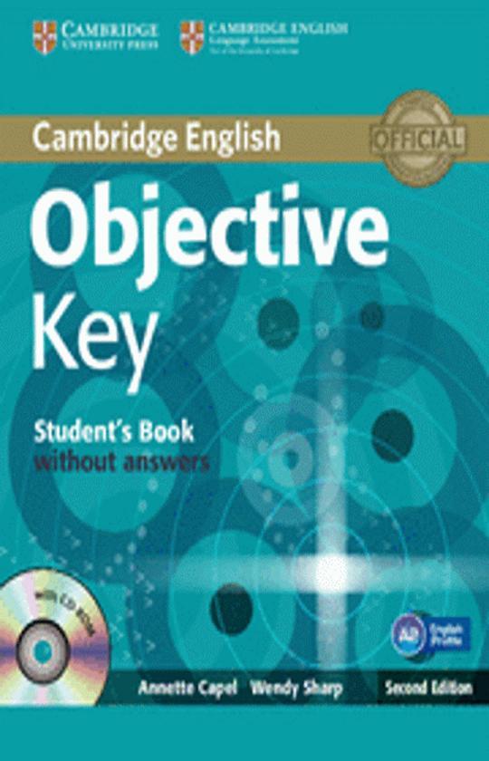 OBJECTIVE KEY ( KET) SB + CD ROM 2nd Ed.