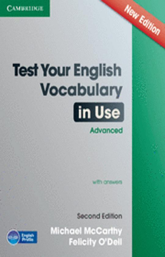 TEST YOUR ENGLISH VOCABULARY IN USE ADVANCED 2nd Ed with answers