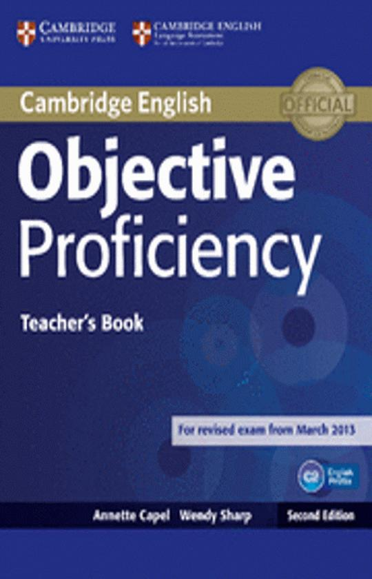OBJECTIVE PROFICIENCY TB - Revised Exam March 2013