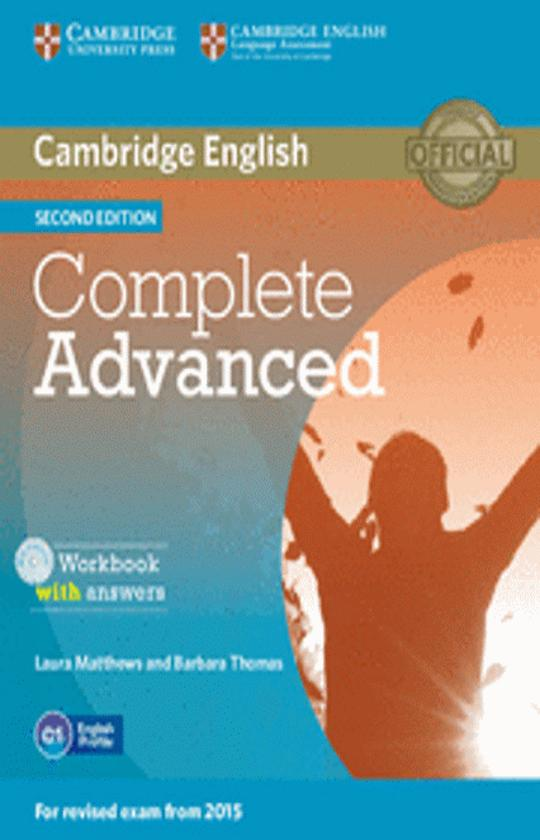 CAMB COMPLETE CAE WB with answers + CD 2nd Ed Revised 2015