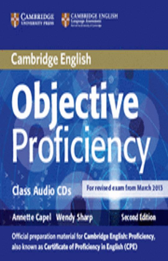 OBJECTIVE PROFICIENCY CD - Revised Exam March 2013