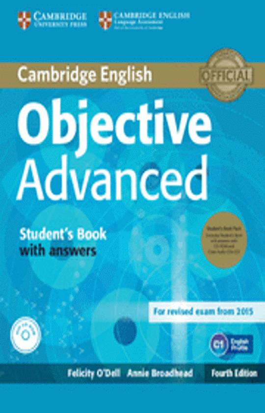 OBJECTIVE ADVANCED (CAE) SB with answ + CD + CD ROM 4th Ed  Exam 2015