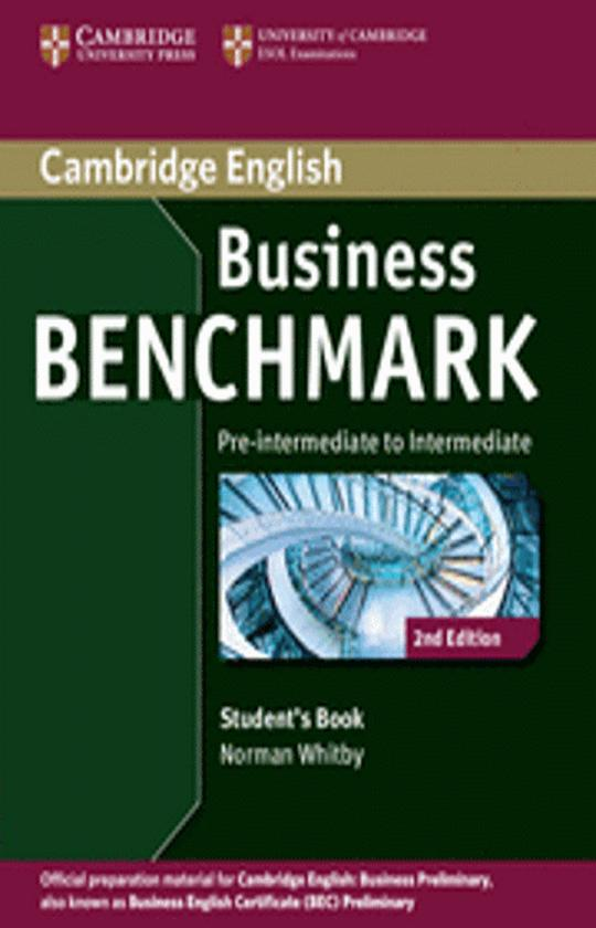 BUSINESS BENCHMARK PRE-INT / INT SB 2nd Ed