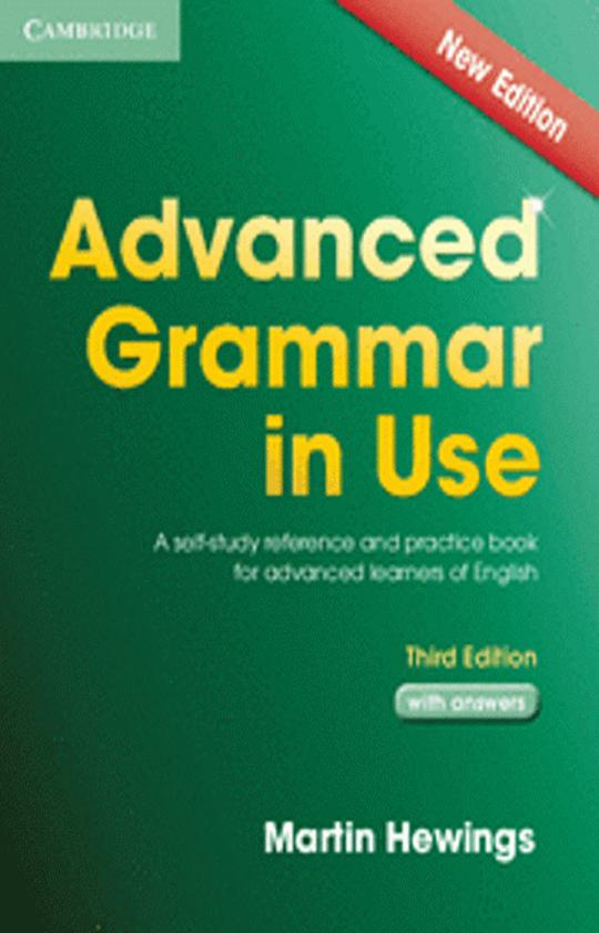 ADVANCED GRAMMAR IN USE 3rd Ed with answers