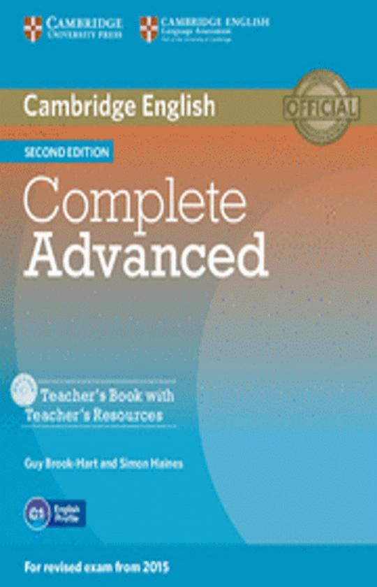 CAMB COMPLETE CAE TB + Teacher´s Resources+ CD ROM 2nd Ed Revised 2015