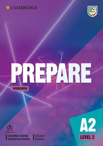PREPARE! 2 WB + Audio  2nd Ed