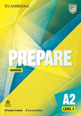 PREPARE! 3 WB + Audio  2nd Ed