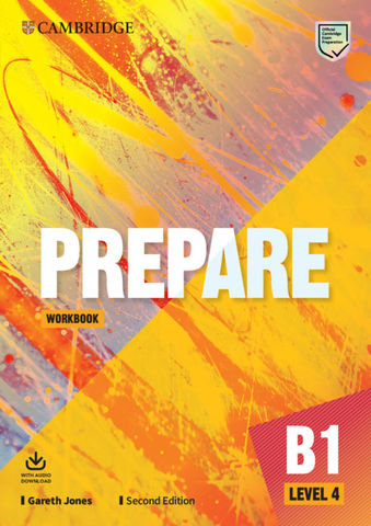 PREPARE! 4 WB + Audio  2nd Ed