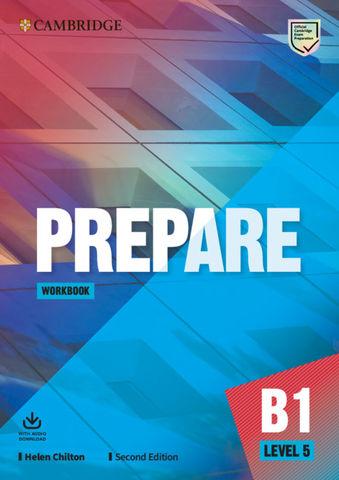 PREPARE! 5 WB + Audio  2nd Ed